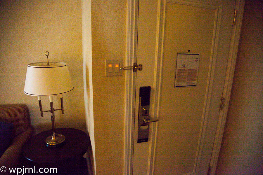 Fairmont Chateau Frontenac Gold Room - Entrance