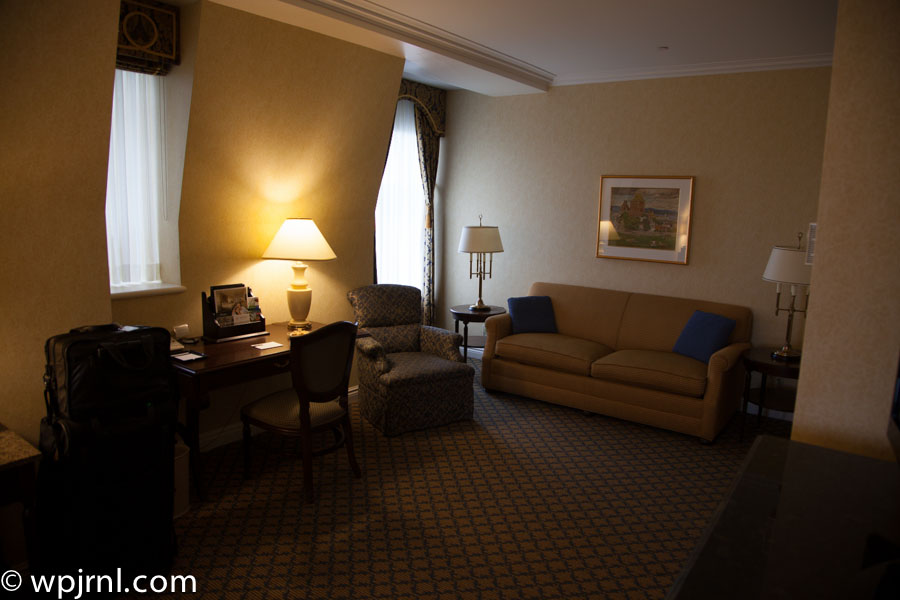 Fairmont Chateau Frontenac Gold Room - Room